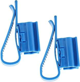 NCONCO 2 abrazaderas de plástico ajustables para tubo de agua para pecera.