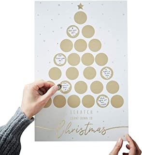 Christmas Advent Calendar 2018 Adult Advent Calendar Kids Advent Calendar Fill In Scratch & Reveal