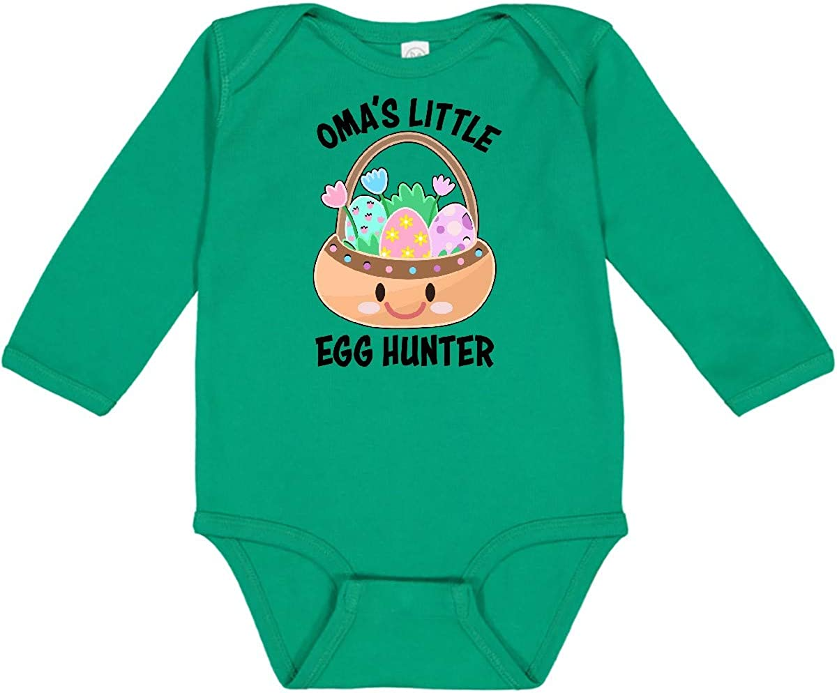 inktastic Omas Little Egg Creeper Sleeve Hunter Long Popular standard