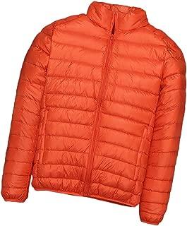 neveraway Men Ultra Light Weight Plus-Size Warm Zip Up Winter Short Down Jackets
