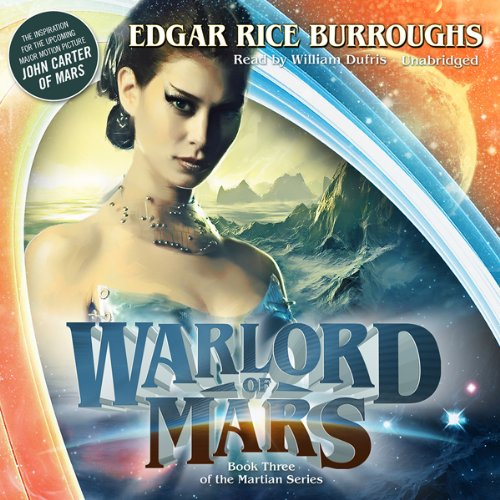 Warlord of Mars audiobook cover art