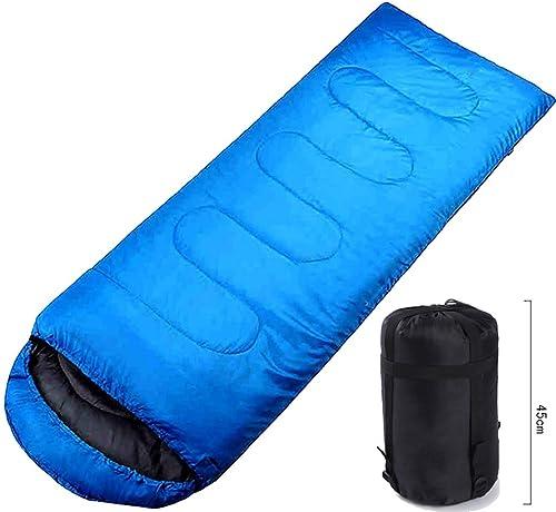 MISS&YG Double Sac de Couchage, adapté pour Le Camping, la randonnée, Le Camping activités intérieures et extérieures, Grand Sac de Couchage Double, Sac de Couchage enveloppe de Base