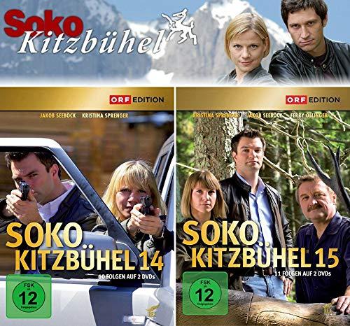 SOKO Kitzbühel - Box 14+15 (4 DVDs)