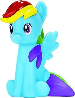 Lámpara de My Little Pony, diseño de arcoíris, fibra óptica, color rosa, plástico, azul, talla única