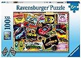 Ravensburger Kinderpuzzle 12899 Tableau d'affichage en Forme de Voiture de Course 100 pièces