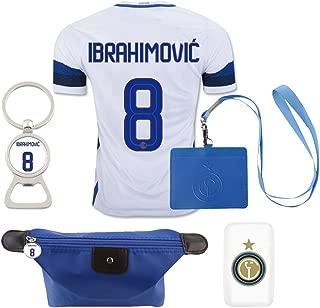 #8 Ibrahimovic (6 in 1 Combo) Inter Milan Away Match Adult Soccer Jersey 2016-17