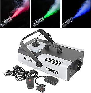Stage Accessories Effect Machines 1500W DJ Smoke Machine FogEffect LED RGB DMX Wireless RemoteFogger Professional Portable...