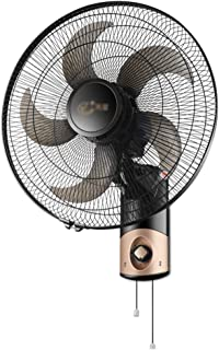 FUDIV Ventilador Genial Ventilador de Pared,con Mando a Distancia | oscilante SD-79C0 | Negro | Ventilador electrico | 20 Pulgadas | Temporizador 7H | silencioso,Ventilador de Pared