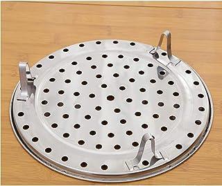 TZOU Multifunction Stainless Steel Steamer Plate for Steamed Bun 20# Diameter 19.5cm