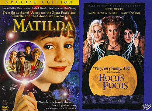Matilda & Hocus Pocus Halloween Magic Double Feature Creepy witches family fun