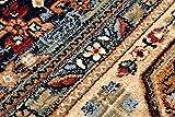 Teppich Wolle KESHAN Ornament orientalisch 7518/53528 beige/dunkelblau 250x350 cm beige - 8