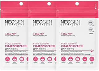 NEOGEN DERMALOGY A-CLEAR AID SOOTHING SPOT PATCH 24 COUNT (3 PACK) PIMPLE PATCH, ACNE CARE