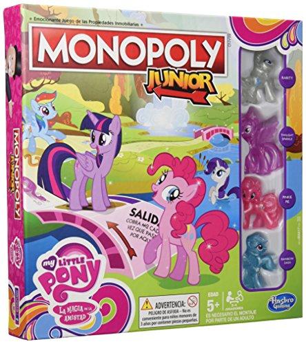 Hasbro - Juego de Mesa Monopoly Junior, Edición My Little Pony (B8417105)