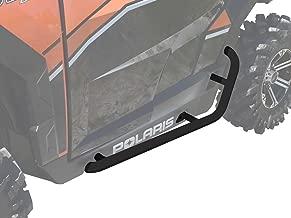 SuperATV Heavy Duty Nerf Bars/Rock Sliders/Tree Kickers for Polaris General 1000 (2016+) - Wrinkle Black