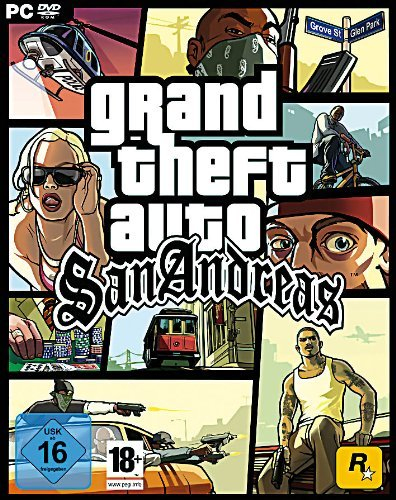 Grand Theft Auto: San Andreas (DVD-ROM)