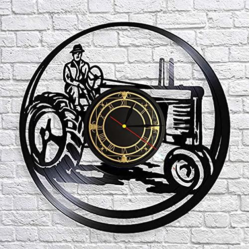 SHILLPS Golf Led Registro De Vinilo Reloj De Pared Diseño De Interiores Decoración para El Hogar Amantes De La Música 12 Pulgadas