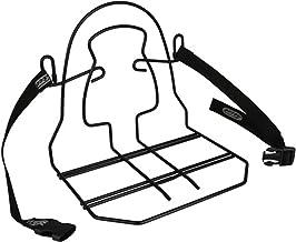 Steco Uniseks Volwassene 2521700301 Bagagedrager, zwart, 9 x 8 x 15 cm