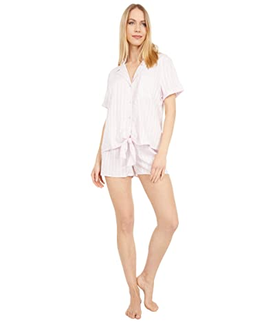 Splendid Notch Collar PJ Set (Primrose Pink) Women