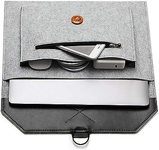 ABRONDA Felt Laptop Envelope Sleeve 13.3-Inch Felt Envelope Sleeve Case Protective Bag Compatible MacBook Pro/Air/Retina 1...