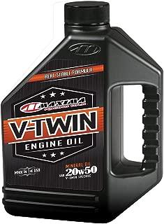Maxima Racing Oils 30-069128 20w50 V-Twin Mineral Engine Oil - 128 fl. oz.