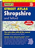 Philip's Street Atlas Shropshire and Telford: Spiral Edition
