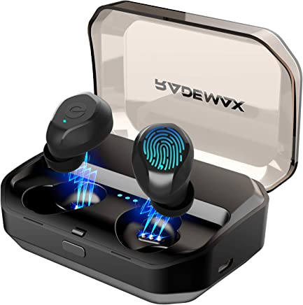 [2019 Upgrade] True Wireless Earbuds, Bluetooth 5.0...