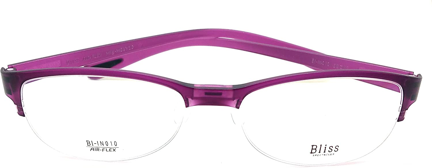 Bliss Eye Glasses Frame Super Light, Flexible Prescription Frame BlIN010 C6