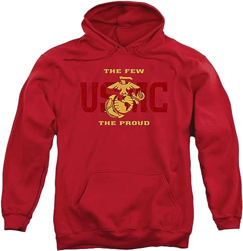 Us Marine Corps - - Sweat à Capuche Split Tag pour Hommes