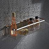 ZHEN GUO Lange Dusche Caddy Bad Regal Storage Organizer Korb an der Wand befestigt für Shampoo,...