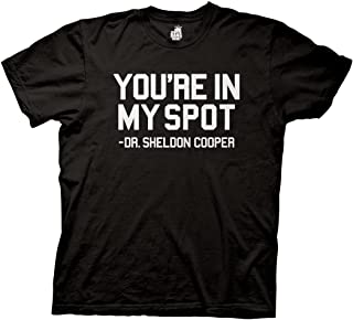 Ripple Junction Big Bang Theory Youre in My Spot Dr Sheldon Cooper T-Shirt