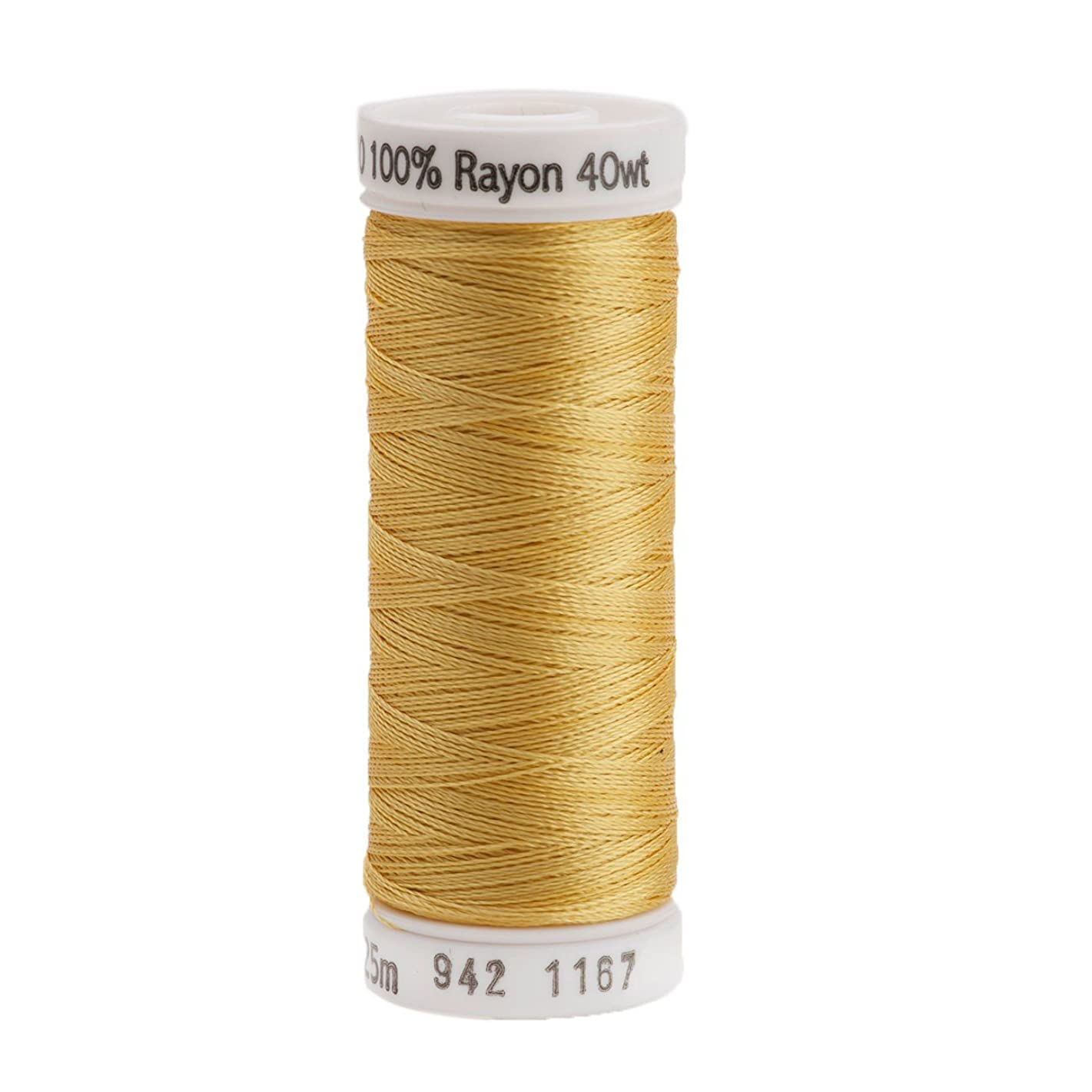 Sulky Rayon Thread for Sewing, 250-Yard, Maize Yellow