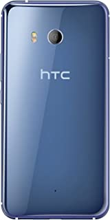 HTC U11 64GB Single SIM (GSM Only, No CDMA) Factory Unlocked Android OS Smartphone (Amazing Silver) - International Version