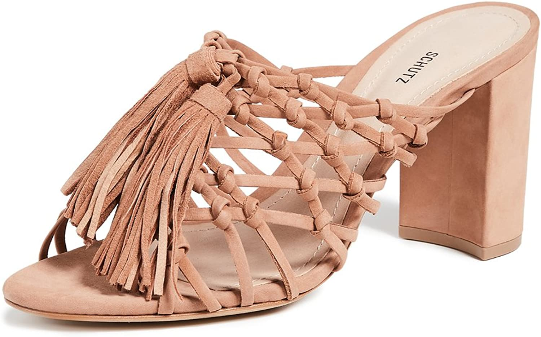 Schutz Women's Emily Tassel Sandals