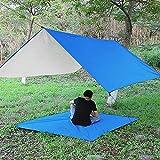 UNIVIEW Tienda Impermeable Sun Lona Carpa Camping al Aire Libre Hamaca 3x3m Lluvia Mosca contra los Rayos UV adecuados for el Recorrido al Aire Libre de Picnic al Aire Libre Camping Hamaca