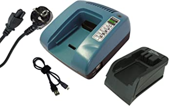 PowerSmart® 7.2-18V oplader voor Black & Decker GKC1000, GLC2500, GPC1800, GTC800, GKC1817, GTC610, GXC1000 groen
