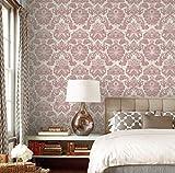 Fototapete - Vlies-Tapete Damaskus-Muster Schlafzimmer