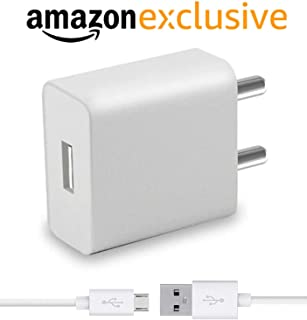 RunSale Universal Fast Adapter Wall Charger with 1 m Micro USB Charging Data Cable (2 Ampere, White)