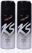 Kama Sutra Rush Deodorant Spray for Men (Pack of 2)