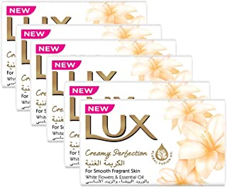Lux Bar Soap Creamy Perfection, 170g - (Pack of 6)