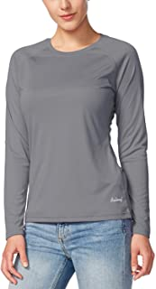 BALEAF Women's Long Sleeve Shirts UPF 50+ Sun Protection SPF Quick Dry Lightweight T-Shirt Outdoor Hiking Runing Fishing