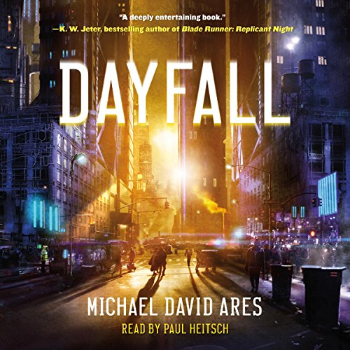 Dayfall audiobook cover art