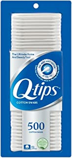Q-tips Cotton Swabs, 500 Count (Pack of 4)