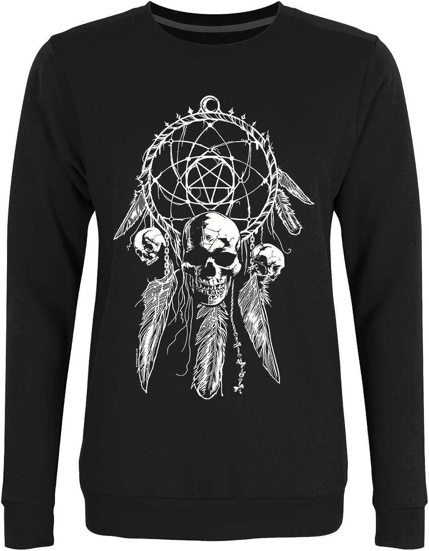 Unorthodox Women's Gothic Dreamcatcher Sweater Black