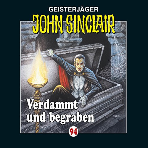 Verdammt und begraben (John Sinclair 94) Titelbild
