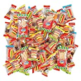 eFrutti Gummy Food Mega Mix (70 pieces) Candy Hot dogs, hamburgers and cola