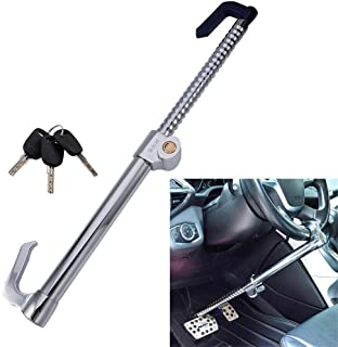 Vechkom Brake Pedal Lock Anti Theft Clutch Lock for car Double Hook Double Protection