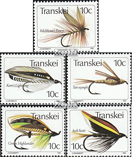 Prophila Collection Sud Africa - Transkei 83-87 (Completa Edizione) 1981 Angelhaken (Francobolli per i Collezionisti) Sport Acquatici