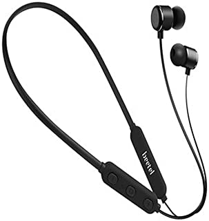 Beetel BT N02 Bluetooth Stereo Neckband Earphone with Sweat-Resistant Soft Silicon Earbuds and handsfree Mic
