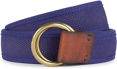 TALLA S. HKT by Hackett Hkt Washed Web Belt Cinturón para Hombre