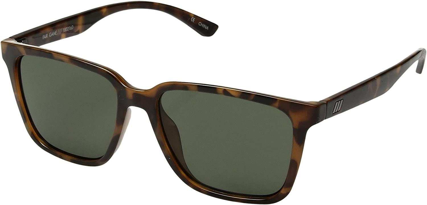 Le Specs Unisex Fair Game Milky Tort Green Mono One Size